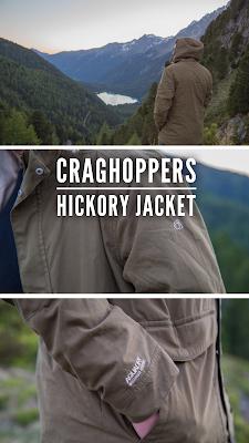 Gear of the Week #GOTW KW 28 | Craghoppers - Hickory Jacket | Stylische Regenjacke für Outdoor Aktivitäten und den Alltag.