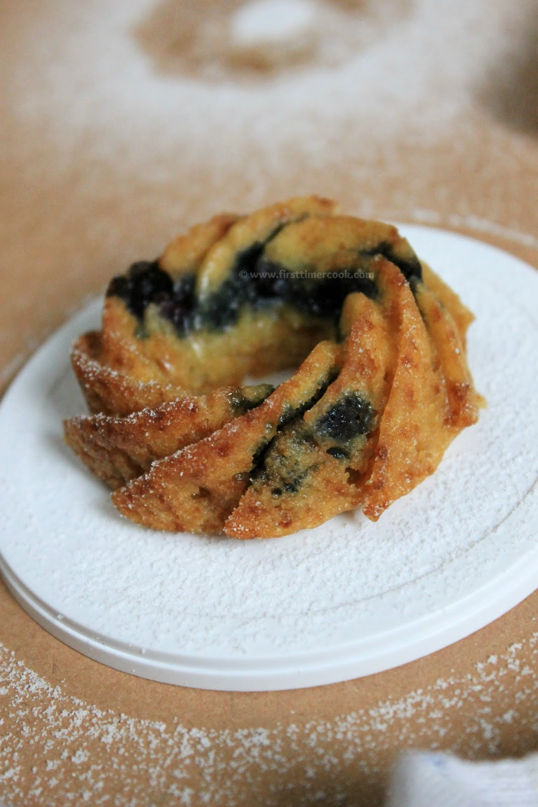 Blueberry Muffin Mix Bundt Cake