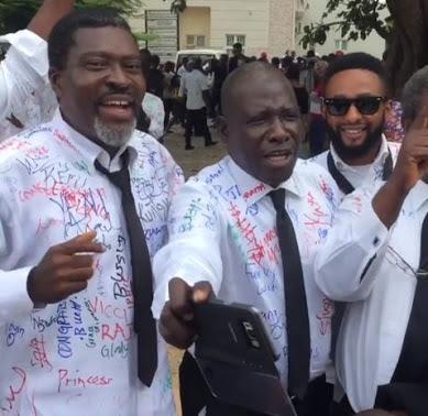 Kanayo O. Kanayo Graduates From Law Department UniAbuja