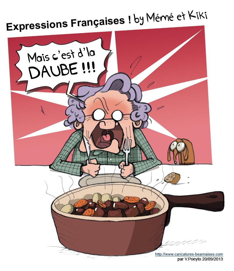 Comment ça Se Dit En Français Cest De La Daube