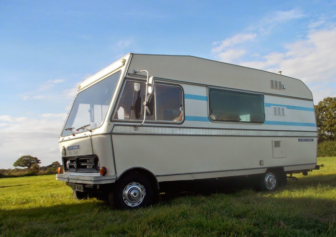OUR ORIGINAL OLD MOTORHOME