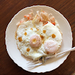 Eggs Over Easy with Kraut