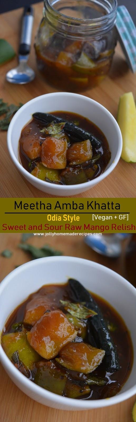 Odia style Meetha Aamba Khatta_Pinterest