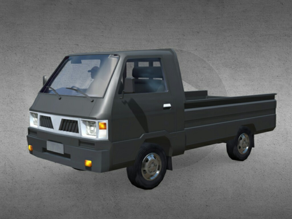 Mitsubishi L300 Pick Up - SKIN & LIVERY DRIVING SIMULATOR