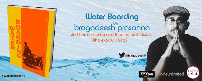 Blog Tour: WATER BOARDING by Bragadeesh Prasanna
