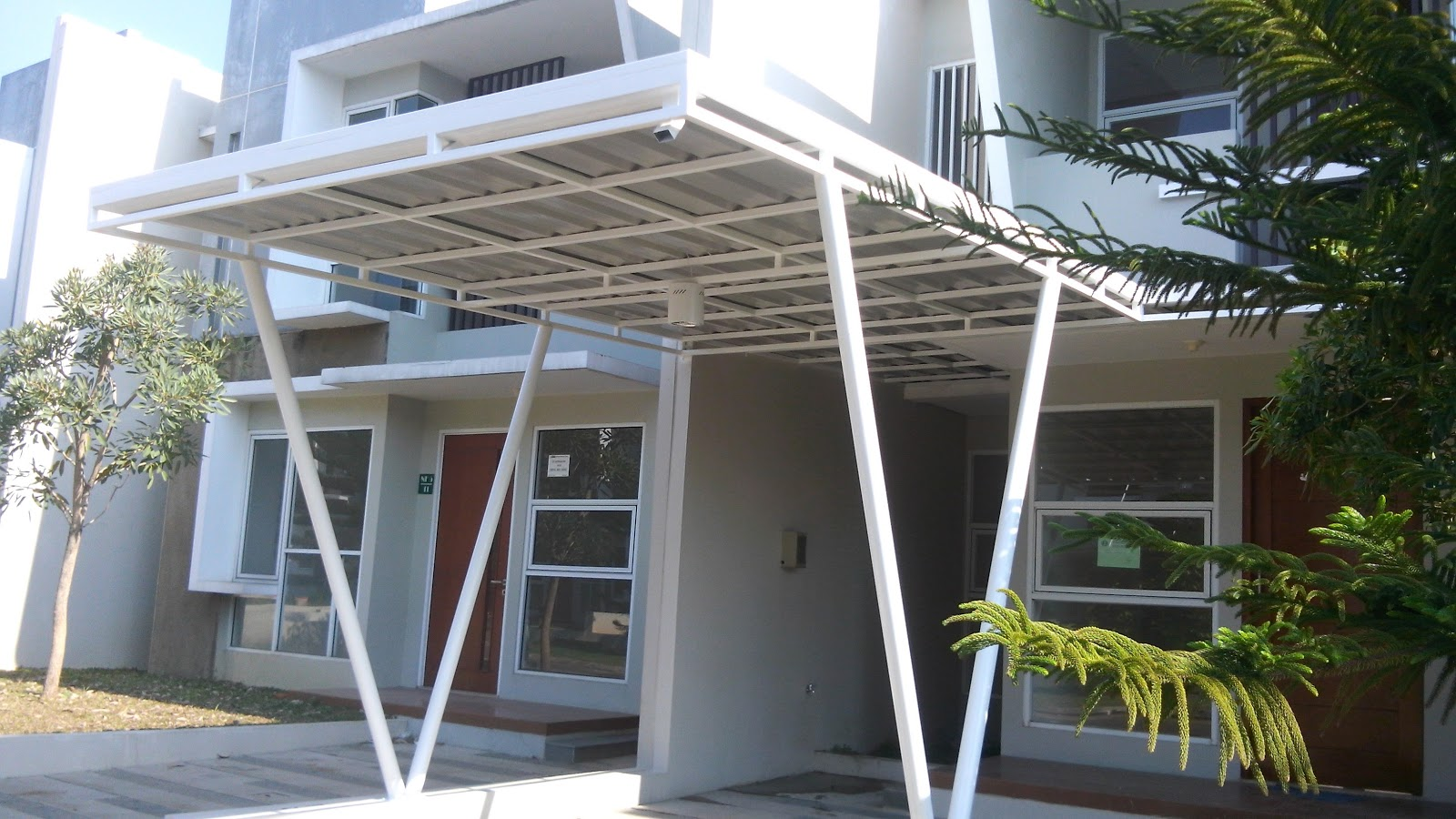 Harga Kanopi Baja Ringan Per Meter Persegi Ganti Atap Garasi Jakarta: Jakarta