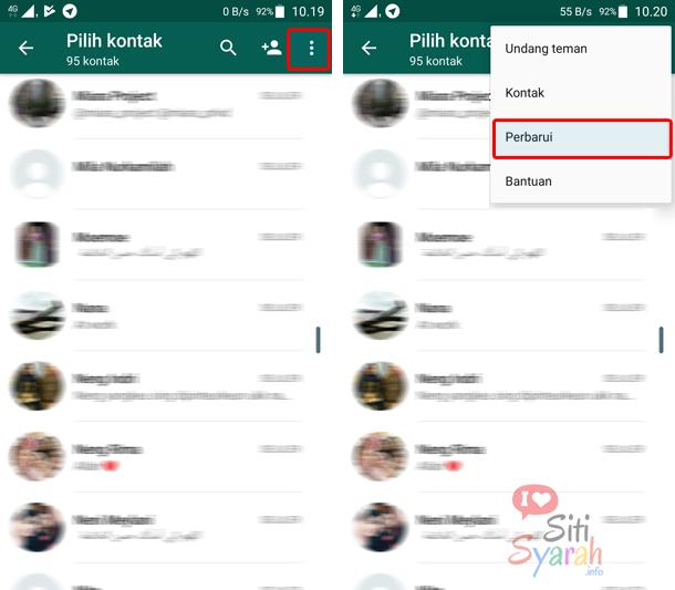 kontak whatsapp jadi nomor semua