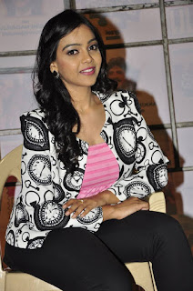 Actress Nithya Shetty Latest Stills in Leggings at Padesaave Movie Team Interview  0013