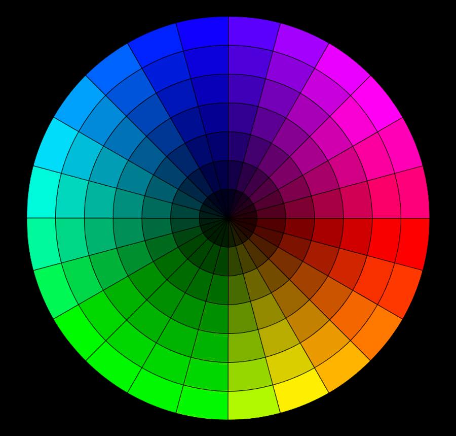 Como crear combinaciones de color perfectas jhon urbano - Rueda de colores ...