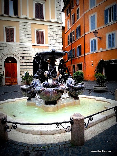 The Turtle Fountain(Fontane della Tartarughe)