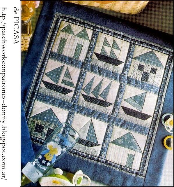 Plantillas Patchwork Pcs Acrlico Plantillas De Acolchado Multi - Plantillas-patchwork-infantil