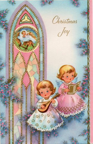 The Skillful Bee: Vintage Christmas Cards