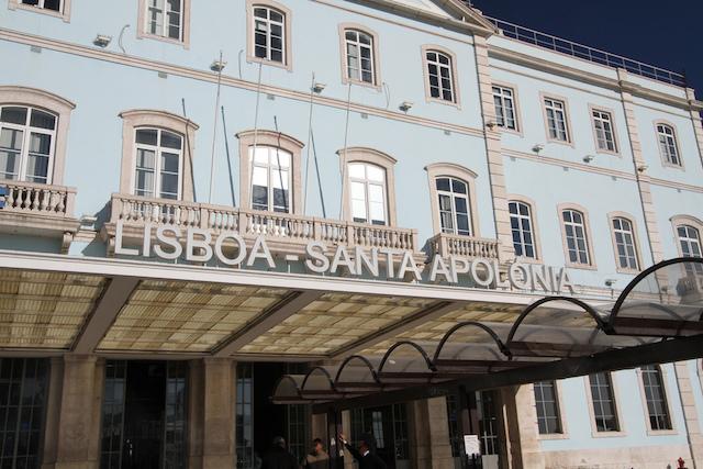 Estação Santa Apolônia em Lisboa