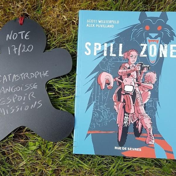 Spill zone, tome 1 de Scott Westerfeld et Alex Puvilland