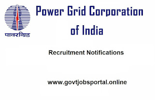 Power Grid Corporation of India Limited Recruitment Notification
