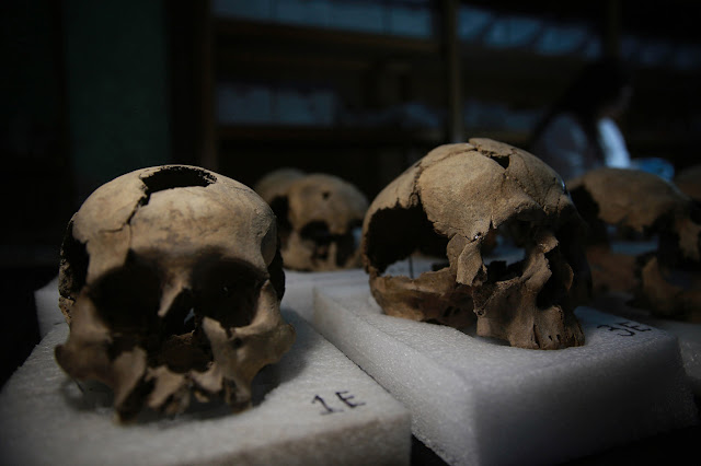 Skulls reveal human sacrifice secrets of Aztec city of Tenochtitlan