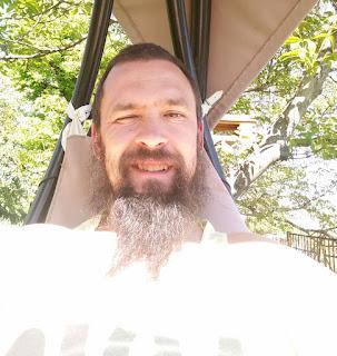 Beard in the sun