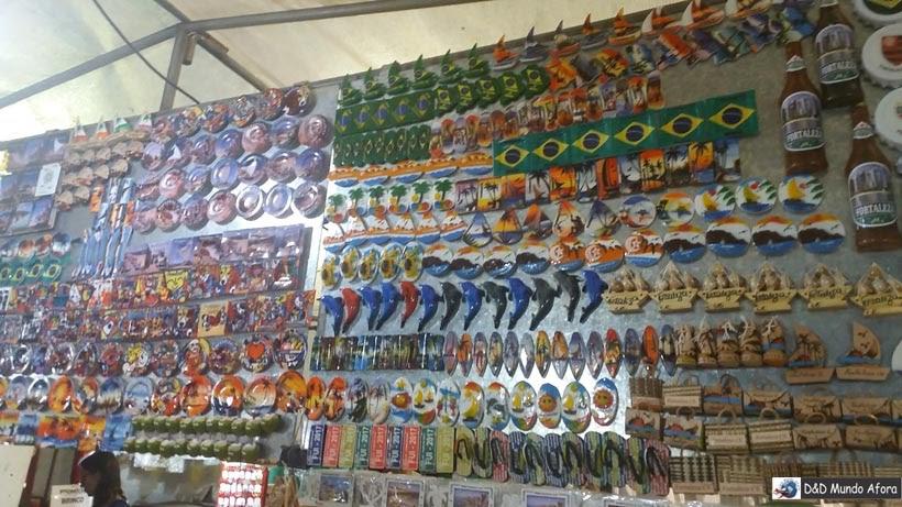 Diário de Bordo - feirinha de artesanato Beira Mar - o que fazer em Fortaleza, Ceará