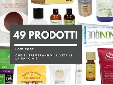Low Cost: 49 prodotti Skin Care sotto i €10 che ti cambieranno la vita (e la faccia)!