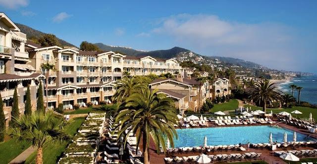 Hotéis situados no alto das colinas em Laguna Beach