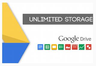 Cara Mudah Membuat Akun Google Drive Unlimited