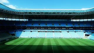Campo e Cadeiras da Arena do Grêmio