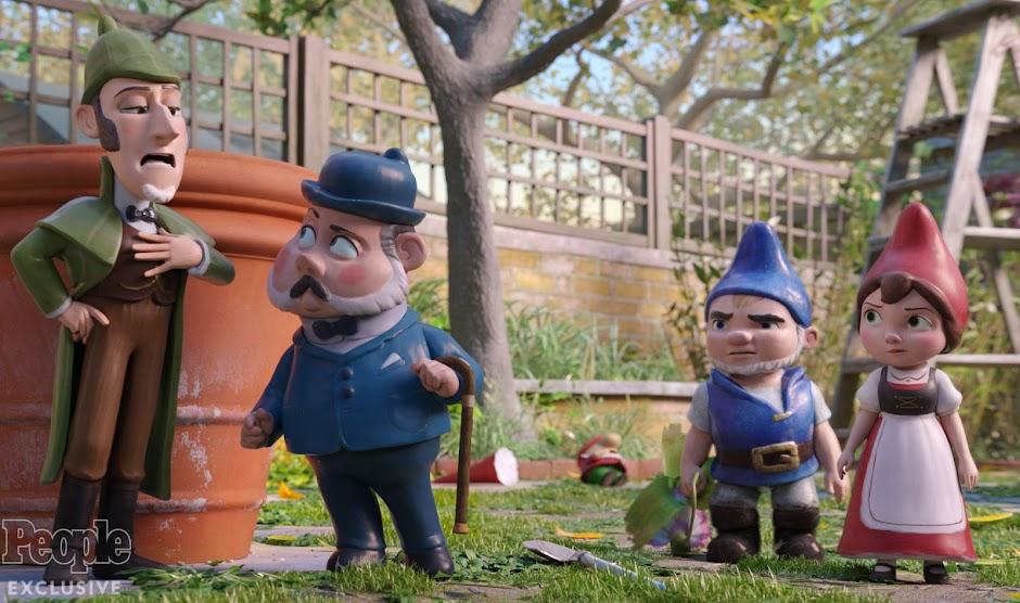 """""""Sherlock Gnomes e o Mistério do Jardim"""""""