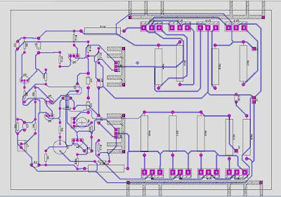 PCB Layout 1000W Power Amplifier Circuit