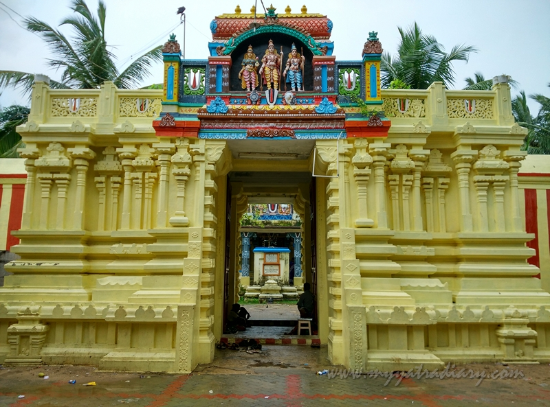 Rama Temple at Rama Teertham, Rameshwaram