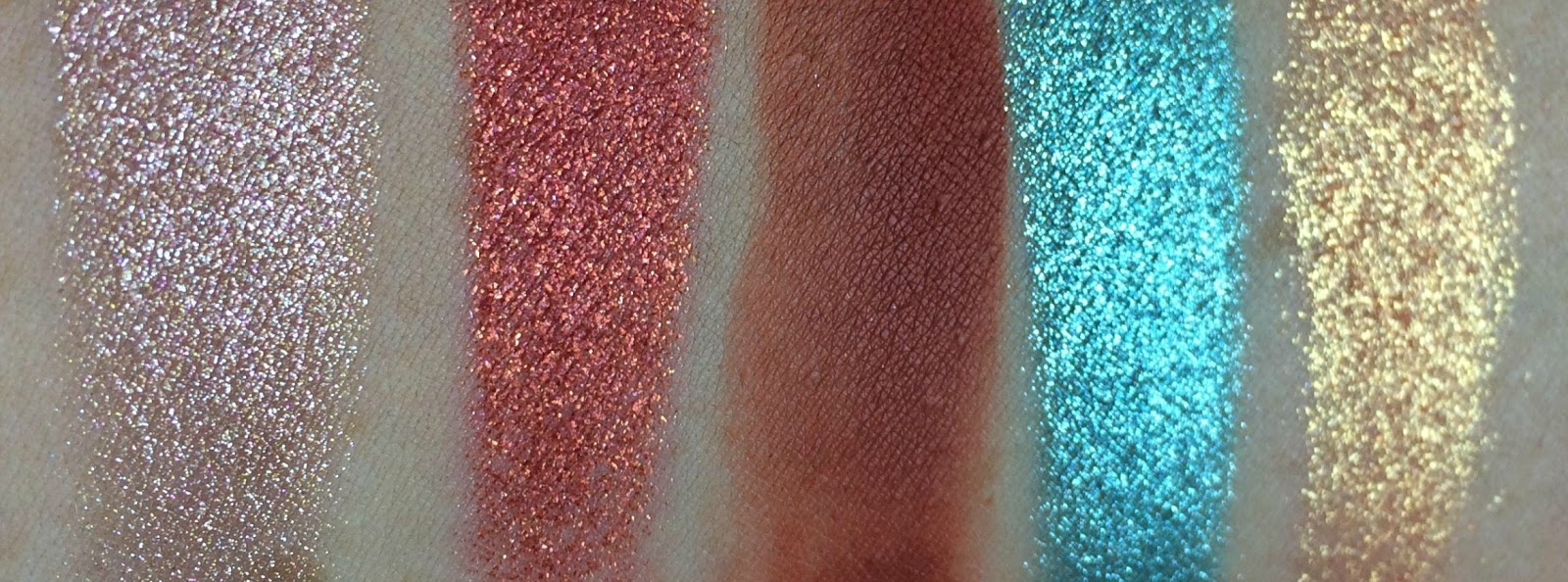 Natasha Denona Aeris Swatches, Review