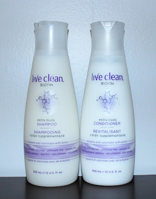 Live Clean Biotin Extra Body Shampoo & Conditioner