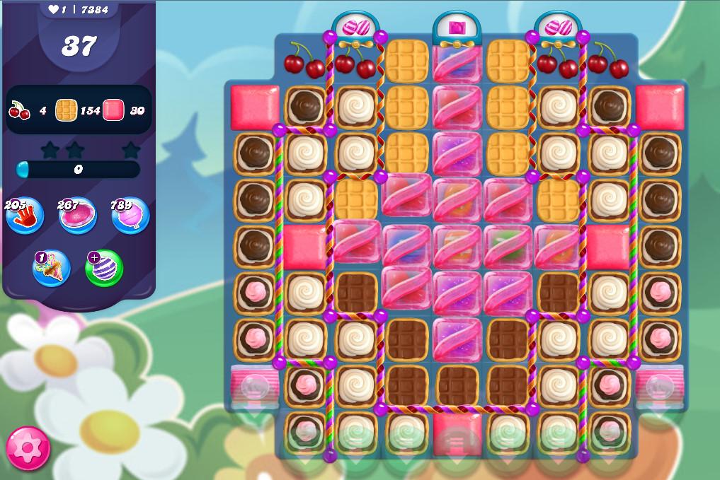 Candy Crush Saga level 7384