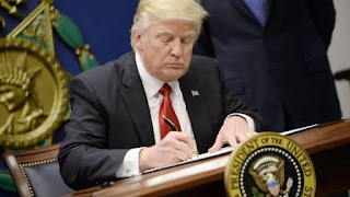 President Trump signs law to defund Planned Parenthood