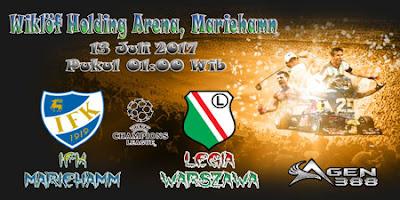 AGEN BOLA ONLINE TERBESAR - PREDIKSI SKOR KUALIFIKASI LIGA CHAMPIONS  IFK MARIEHAMN VS LEGIA WARSZAWA 13 JULI 2017