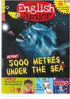 Resultado de imagen de english junior magazine