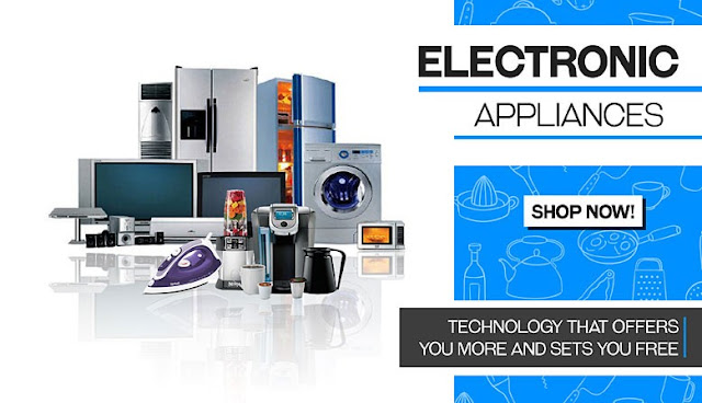 Home Appliance Banner Of SHAN-Electronics