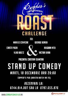 Roast Challenge 2 (Stand-Up Comedy Bucuresti Marti)
