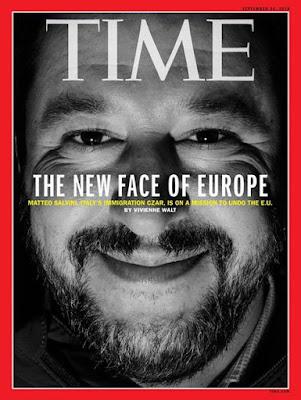 """Συνέντευξη, που προκάλεσε """"ΣΕΙΣΜΟ"""", έδωσε ο Σαλβίνι στο περιοδικό """"TIME""""... (ΒΙΝΤΕΟ)"""