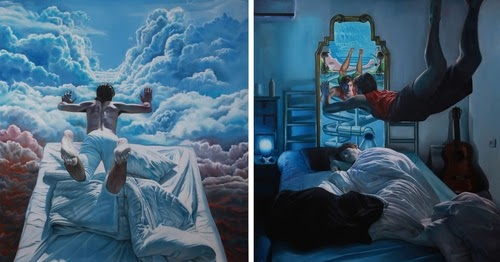 Design Stack: Artist Depicts Surreal Dreams and Nightmares ...