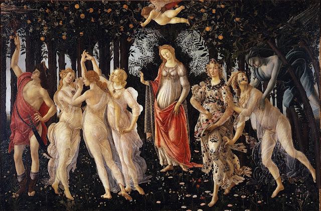 A Primavera de Botticelli