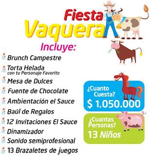 Fiesta cumpleaños vaquera campestre Bogota