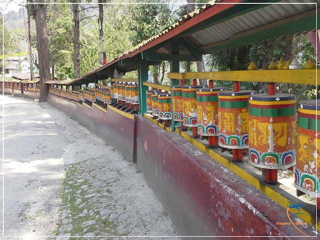 Enchey Monastery, o Mosteiro Solitário - Gangtok - Sikkim - Índia