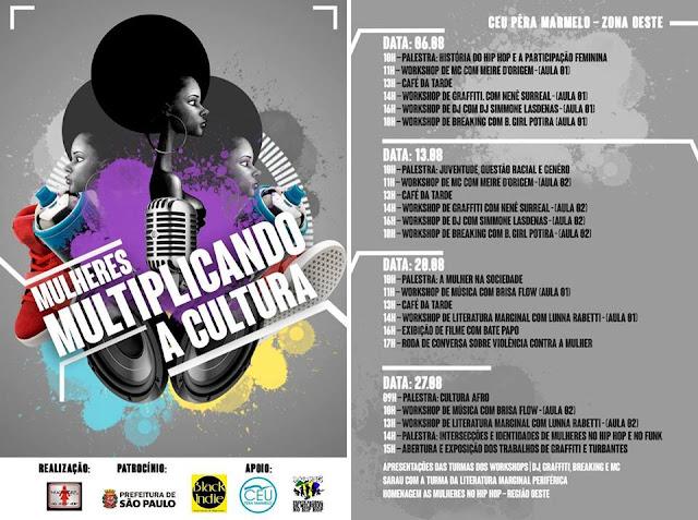 """Projeto """"Mulheres multiplicando a cultura"""" é apresentado no Jaraguá"""