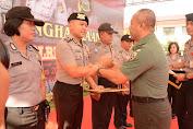 Polda Bali dan Kodam IX/Udayana Beri Penghargaan  Kepada Personel Yang Berprestasi