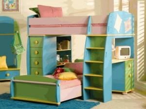 Corner Bunk Beds 1