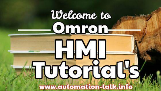 Omron NP HMI Tutorial's