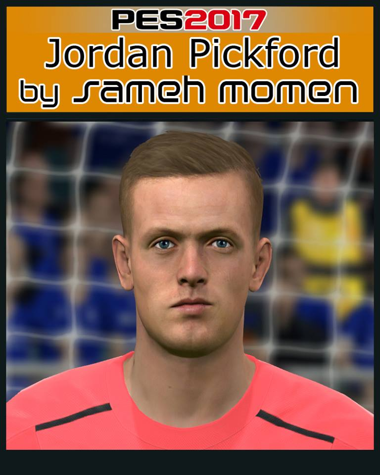 PES 2017 J. Pickford Face by Sameh Momen