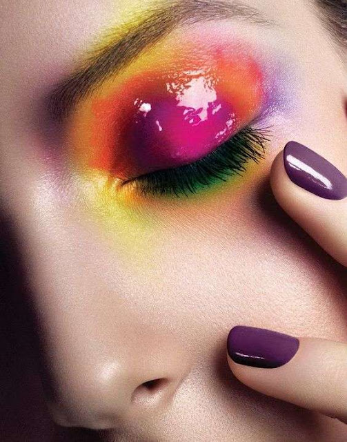rainbow make-up tendenze make up estate 2017 beauty blog beauty tips mariafelicia magno colorblockbyfelym