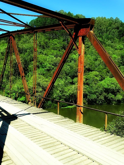 Ponte no Passo do Inferno, São Francisco de Paula