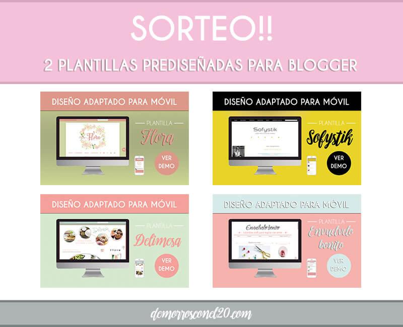 sorteo-plantillas-femeninas-para-blogger